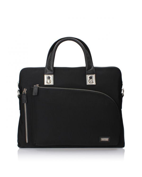 Czarna torba męska 3i - YS-35-32-14046-J8735 Black - 1