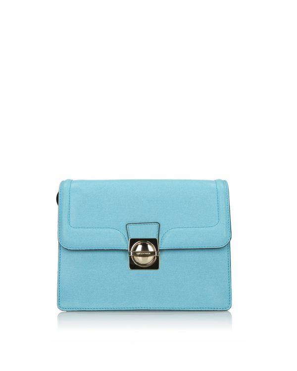 Błękitna torebka damska 3i na ramię - Dissona 18123151 L. Blue - 1