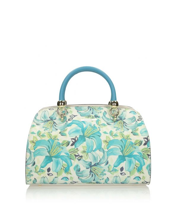 3i Multicolour bag with floral print - 11549 - 1