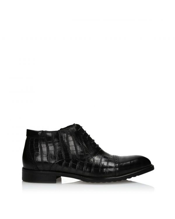 3i Black men's boots - B325-502A-C620 Black - 1