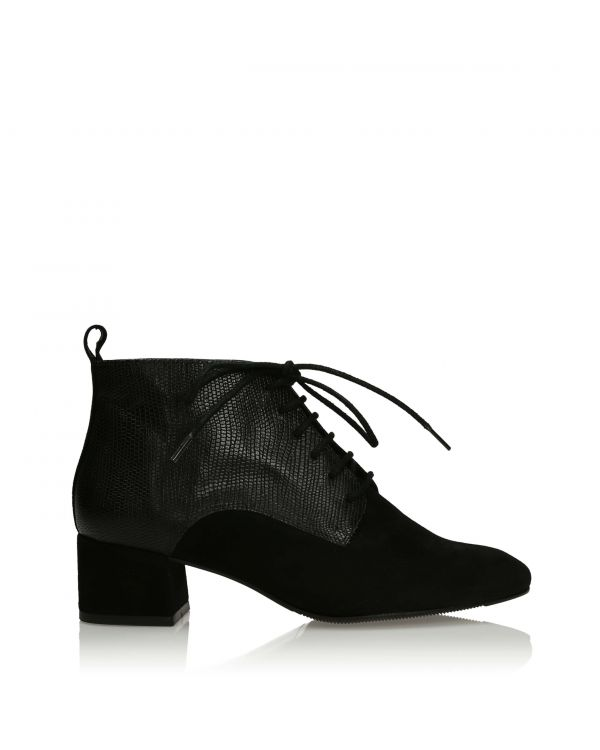 3i Black Ankle Boots - 11112 - 1