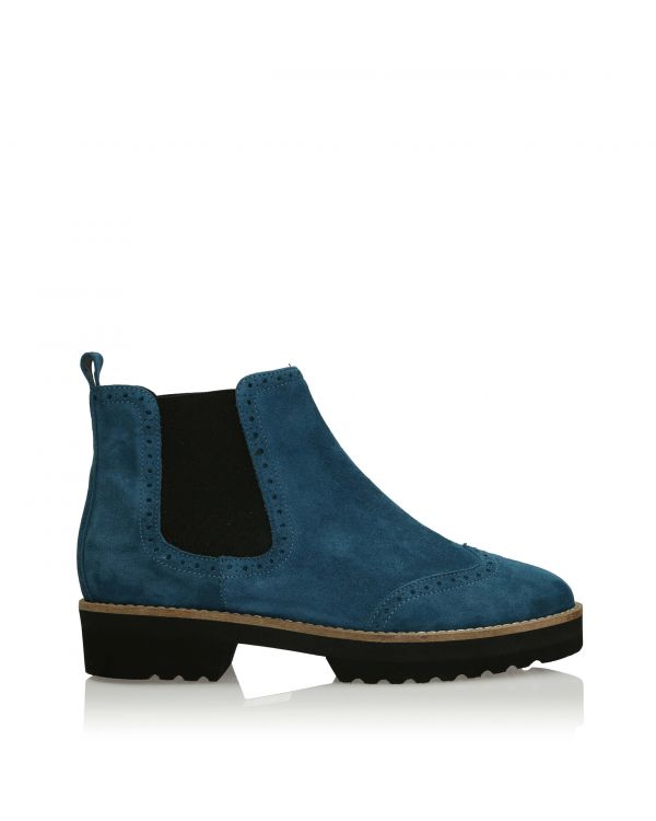 3i Turquoise Ankle Boots - 11101 - 2