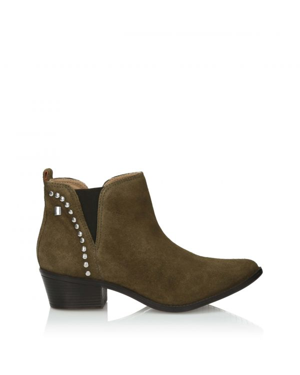 3i Olive Ankle Boots - 11012 Olive - 1