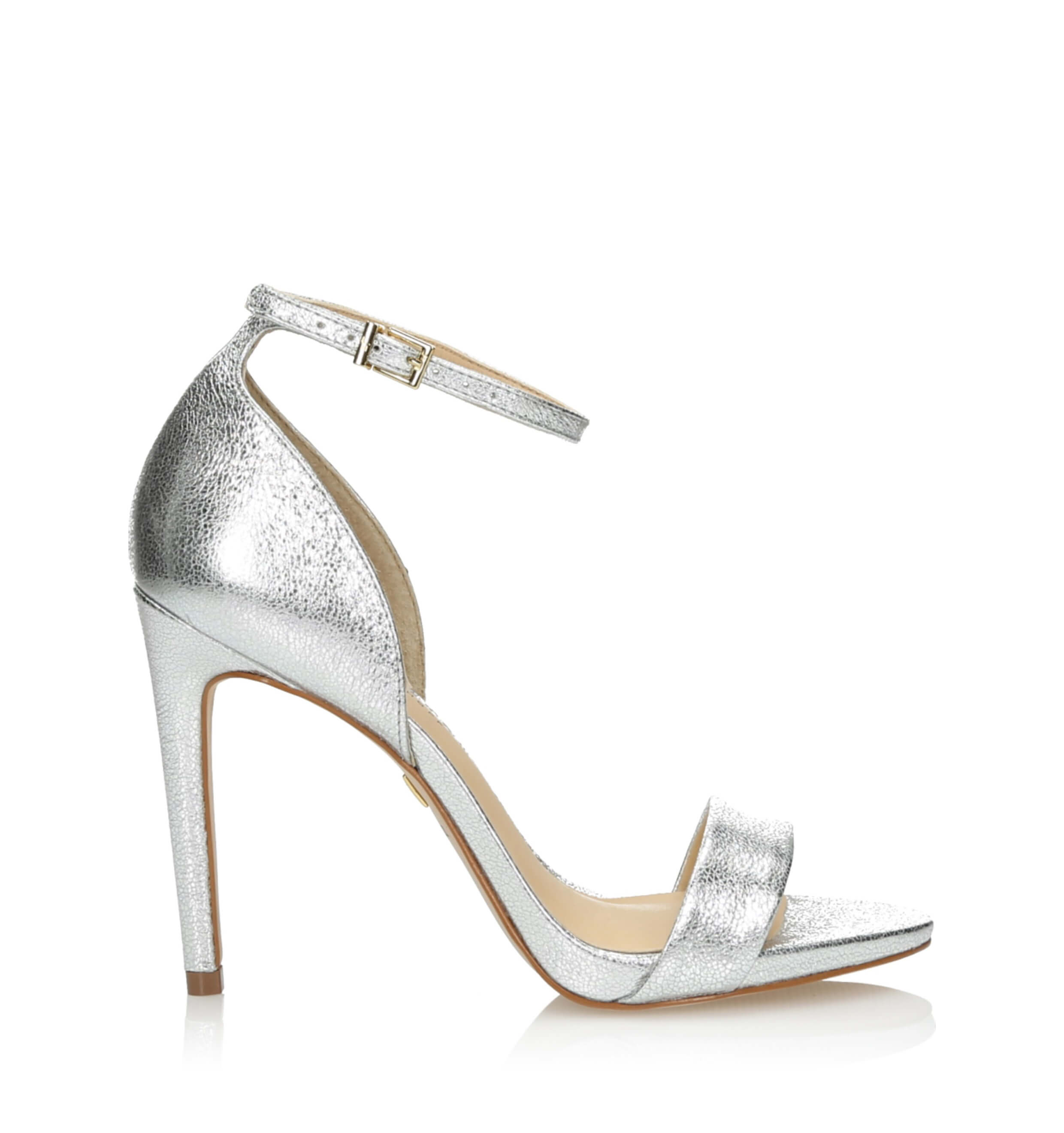 da47ca6003da0 Srebrne sandały damskie na szpilce 3i - J31145002X04 Prata - sklep 3i -store.com